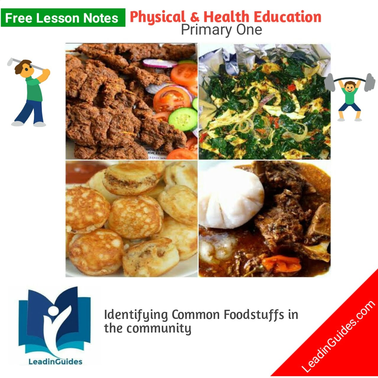 picture of Lesson Note Primary (Grade) One Third Term Week 2 PHE - Free Lesson Notes for Nigerian Schools - LeadinGuides.com
