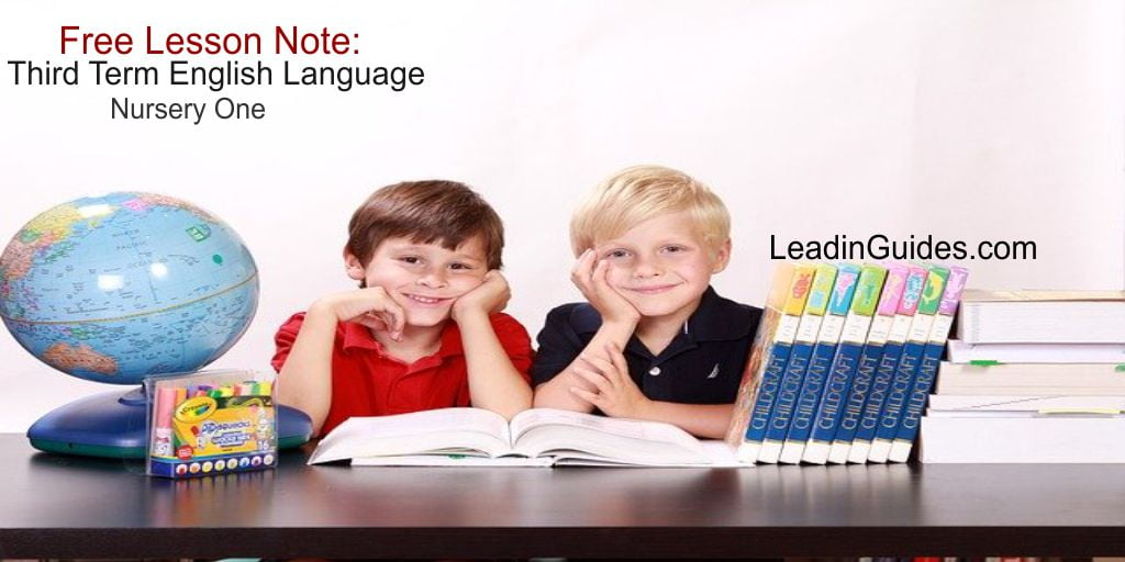 Lesson-Note-Nursery-One-Third-Term-English-Language-Week-1