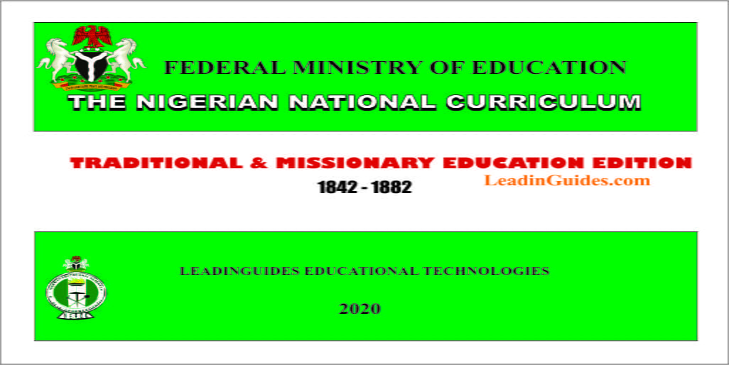 Nigerian National Curriculum Editions