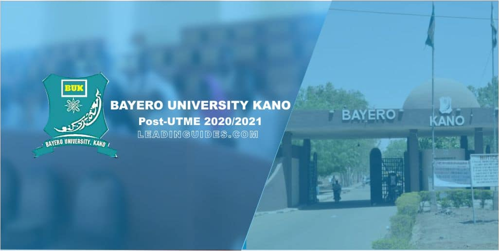 Bayero University Post-UTME 2020-2021