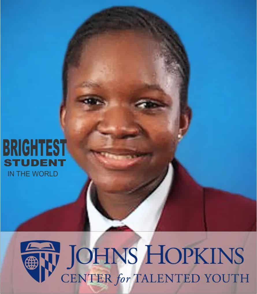 Nigerian Student Emerges Brightest in the World